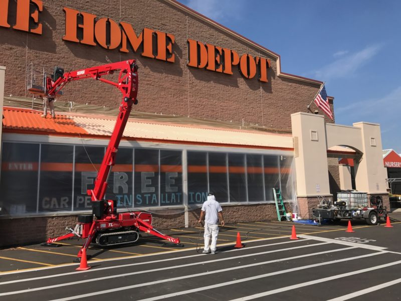 exterior maintenance painting Commercial Painting